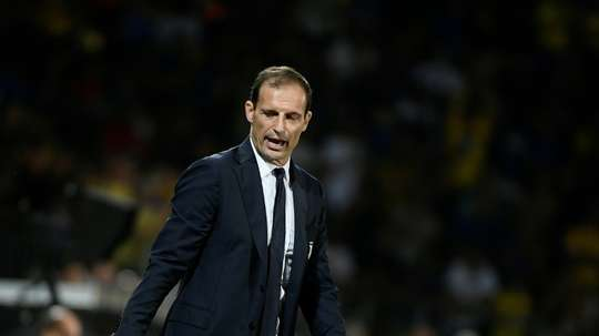 Allegri is wary. AFP