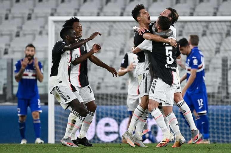 La Juve s'impose contre la Sampdoria. AFP