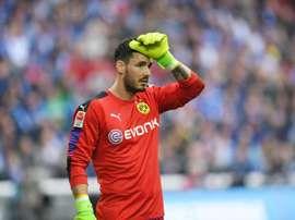 Burki has signed a new deal at Dortmund. AFP