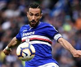 Quagliarella seems close to renewing his contract at Sampdoria. AFP