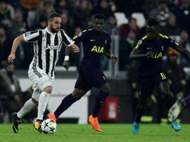 Juventus and Tottenham meet in the 2019 International Champions Cup. AFP