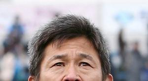 Miura, a lenda do futebol. AFP