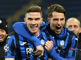 Chelsea et Leicester, à fond sur une révélation de l'Atalanta. AFP