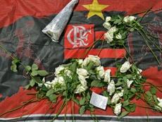 Flamengo condamné à indemniser les familles des victimes de l'incendie. AFP