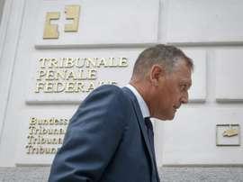 Jugement attendu pour Al-Khelaïfi et Valcke. AFP