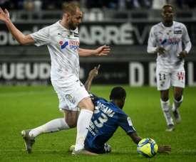 Fin de carrière au goût amer pour Mathieu Bodmer. AFP