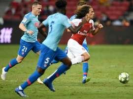 Guendouzi impressed during pre-season. AFP