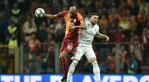 Nzonzi écarté par Galatasaray. AFP