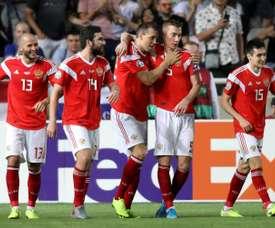 Pourquoi la Russie pourra jouer l'Euro. AFP