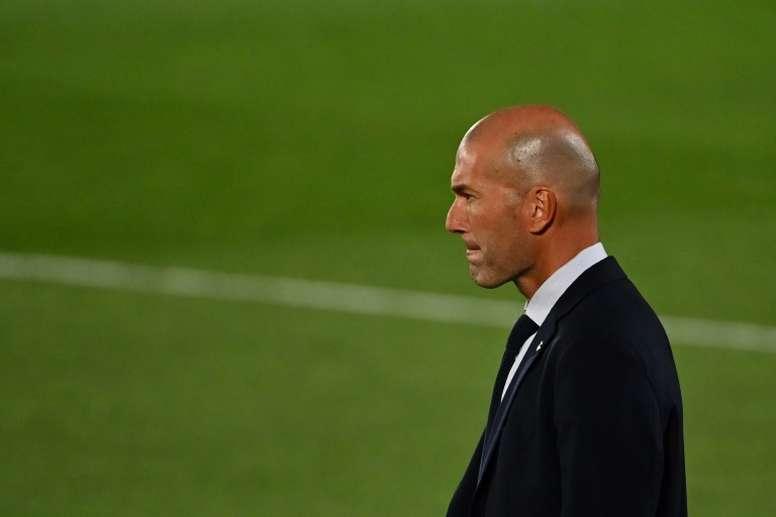 Zidane souhaite que Lionel Messi reste au Barça. AFP