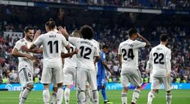 Le Real Madrid a remporté son premier match. AFP