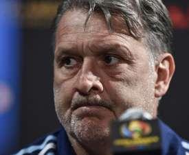 Martino podría entrenar a México. AFP