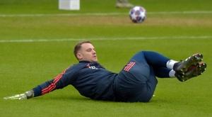 As defesas de Neuer em Champions. AFP