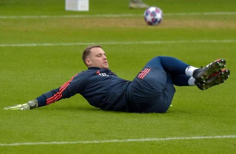 Neuer reconoció que lo más justo es un recorte a los futbolistas. AFP