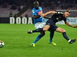 City prêt à faire de nouvelles folies pour un défenseur. AFP