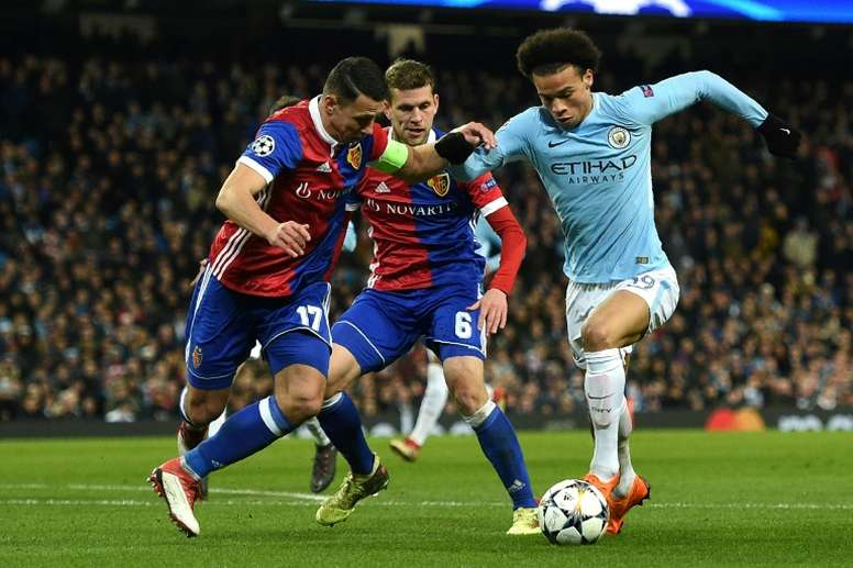 Guardiola's side advanced despite falling to defeat on the night. AFP