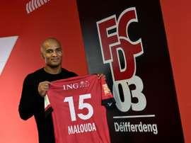 Florent Malouda choisit le Luxembourg. AFP