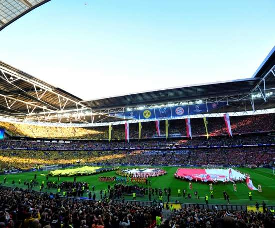 Wembley hosted the 2013 Champions League final. AFP