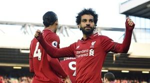 Liverpool ne laissera pas partir son Roi Egyptien. AFP