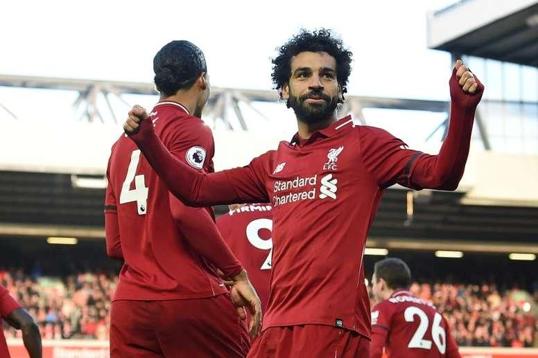 La Juve valoraría fichar a Salah. AFP