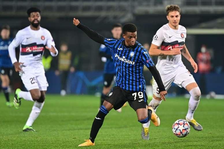 A Diallo se le ve como una futura estrella en el United. AFP