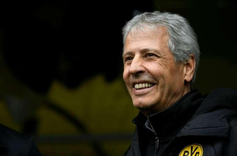 El Borussia renueva a Favre hasta 2021. AFP
