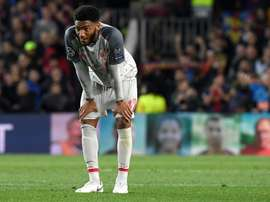 Joe Gomez may be set to move away from Liverpool in January. AFP/Archivo