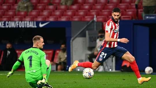 Messi, Ter Stegen e Coutinho não jogarão contra o Ferencváros. AFP