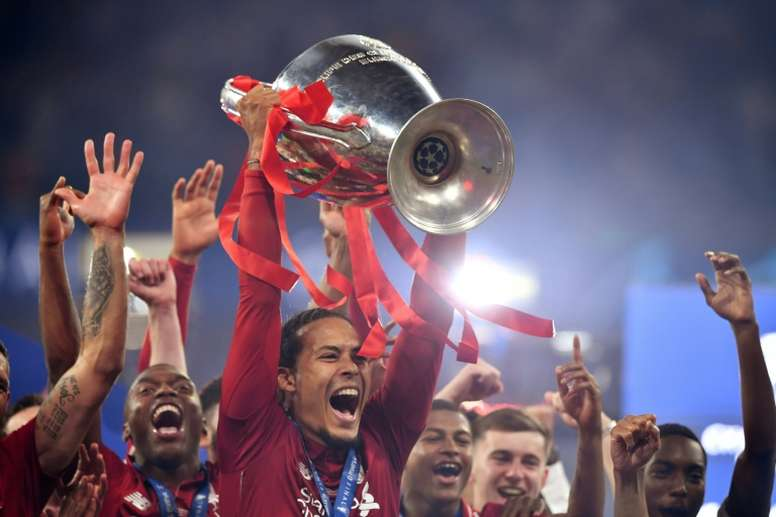 Liverpool won the last Champions League. AFP