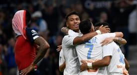 El Marsella, un segundo de récord... negativo. AFP