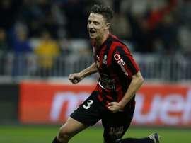 Boscagli est heureux de jouer à Nimes. AFP