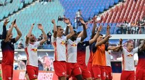 Leipzig débute aussi par une victoire. AFP
