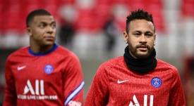 Le clan Neymar ouvert à une prolongation à Paris. AFP
