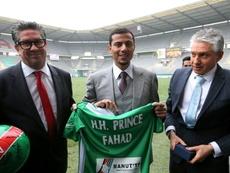 Le prince saoudien Fahad Al Saud. AFP
