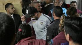 Boca y River agoraron sus argumentos en el TAS por la Libertadores. AFP