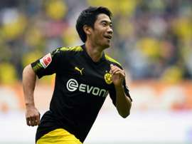 Shinji Kagawa signe en deuxième division espagnole. AFP