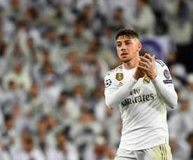 Federico Valverde analisou o retorno aos treinos e projetou as expectativas para a reta final. AFP