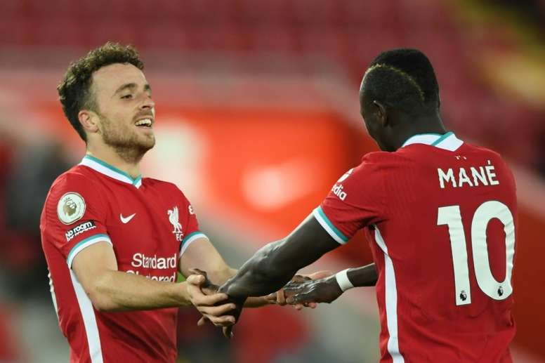 Liverpool's Diogo Jota spoke about his past at Atletico. AFP