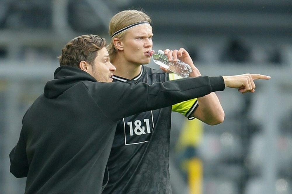 Borussia again make it clear that there will be no exit for Haaland. AFP