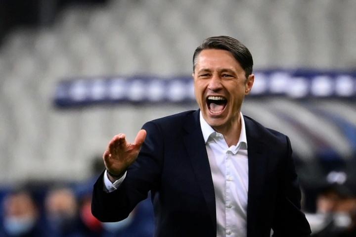 Niko Kovac avalia Lecomte.AFP