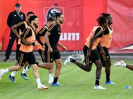 Los belgas se medirán a Francia en semifinales. AFP