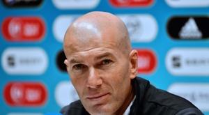 Zidane, o escolhido para substituir Deschamps. AFP