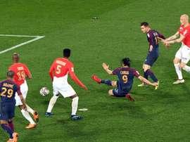 Monaco laisse encore une fois passer la Coupe de la Ligue. AFP