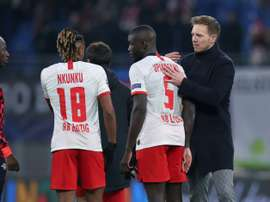 Upamecano lui aussi dans le viseur du Bayern. AFP