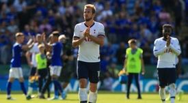 Kane já pensa em deixar o Tottenham. AFP