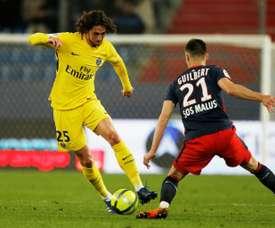 Rabiot termina contrato con el PSG en junio. AFP