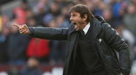 Conte podría marcharse del Chelsea antes de lo esperado. AFP