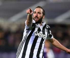 A Juventus bateu a Fiorentina por 0-2. AFP