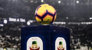La Ligue italienne confirme la reprise du championnat le 20 juin. AFP