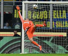 Handanovic almost ended up in the Catalan capital. AFP
